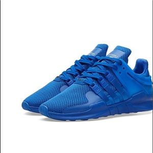 Adidas cobalt blue running sneakers